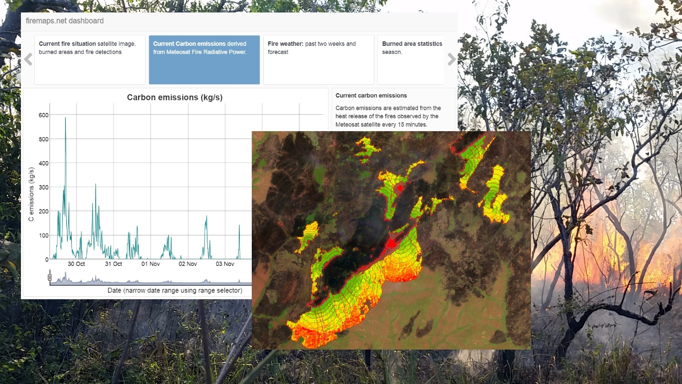 Firemaps.net supports management of UNESCO World heritage Site in West African Savanna